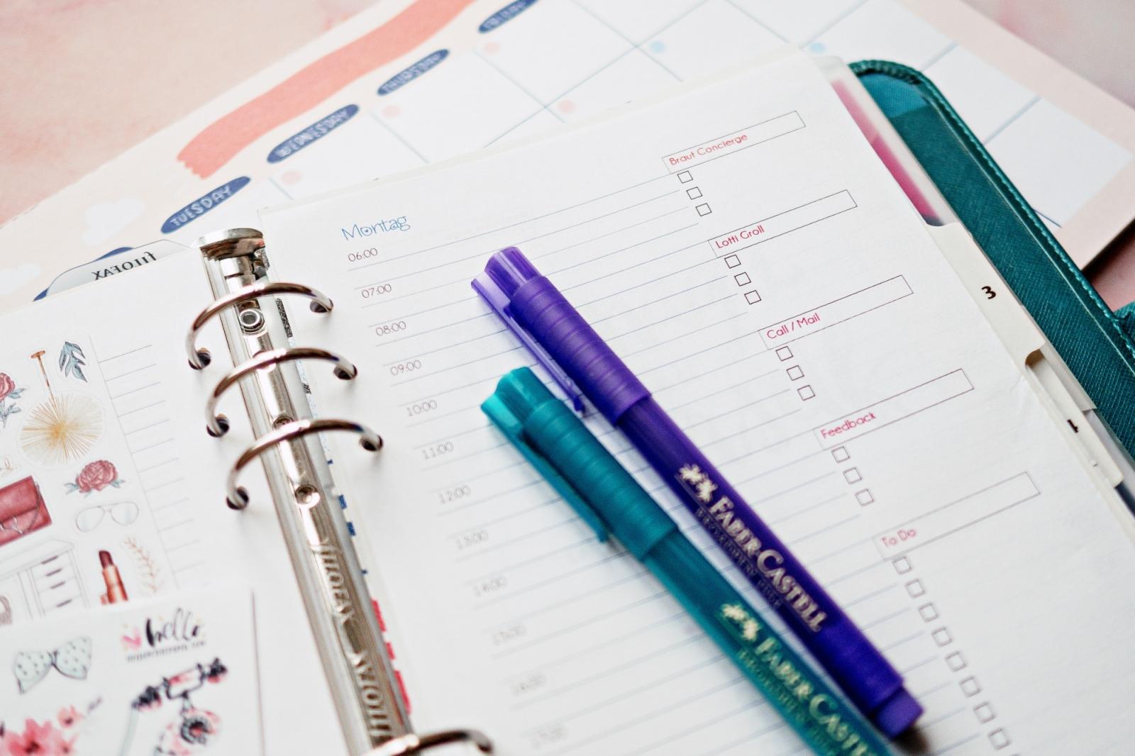 Erfolg ist planbar | Filofax A5 Setup | Lotti Groll